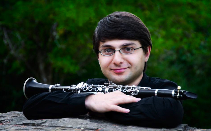 Boris Allakhverdyan, clarinet (MM 2010, student of Franklin Cohen)