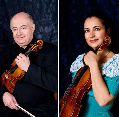 Violinist Olga and Ilya Kaler to Join Cleveland Institute of Music