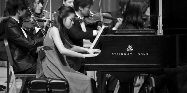 Prepartory student plays with CIM Orchestra