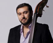 Double bassist Benjamin Harris