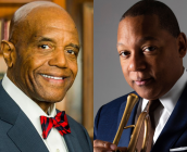 Dr. Ronald Crutcher and Wynton Marsalis