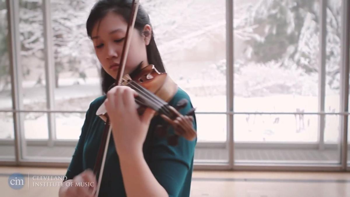 Connect to Violin Students: Christine Wu