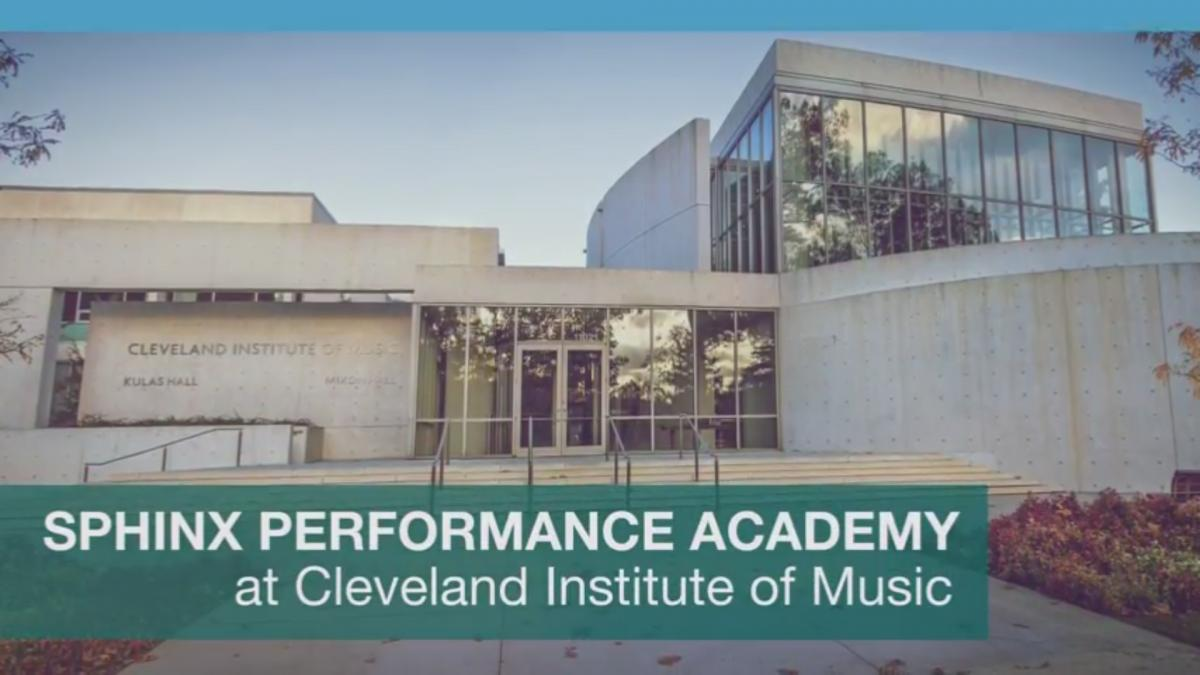 2017 Sphinx Performance Academy at CIM